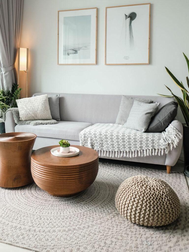 A kanapé elhelyezése és méretét határozzuk meg előre