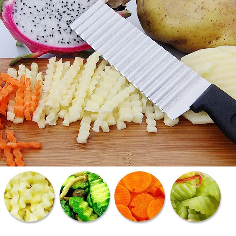 hasábburgonya szelő kés