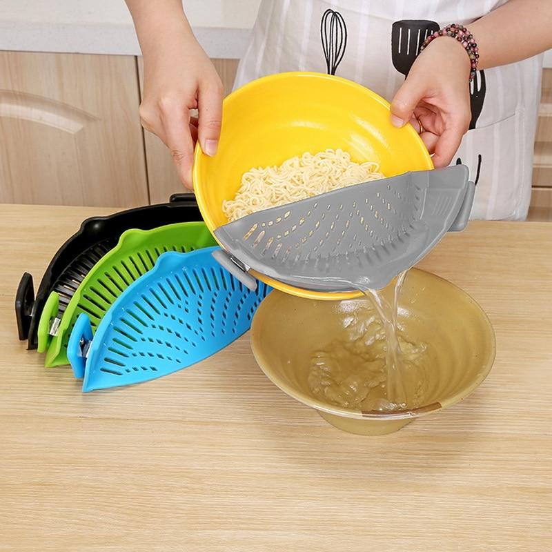 praktikus tészta szűrő szilikon